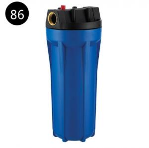 China 2.5X10 Blue Water Filter Cartridge Housing 388 Hits For RO System FL-A2 on sale