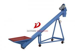 China High Efficiency Flexible Screw Conveyor For Grain / Food / Chemical Transmission on sale