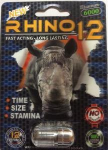 China 10ml Rhino small medicine bottle , Capsule plastic pill containers/3D rhino card on sale