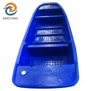 China cheap flat bottom plastic fishing boats on sale