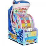 Shark Wheel Redemption Arcade Machines White / Blue Color 1550 * 900 * 2100 Size