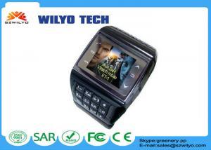 China ET-2 1.3 Touch Screen Dual Sim Cell Phone Wrist Watch Bluetooth Camera Mp3 on sale