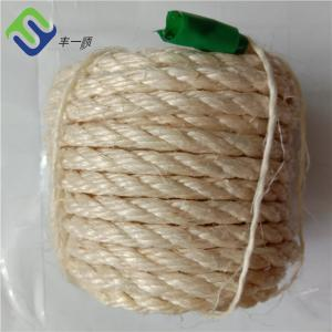 China High Quality 50mm 3 Strand Twisted manila hemp rope for yacht on sale