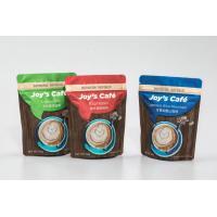 Plastic Zipper Lock Bags Custom Printing Coffee Bag Matte Solvent Free Lamination