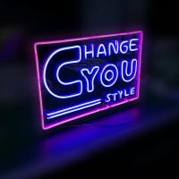China Acrylic Neon Sign Letter Style Logo Outdoor Sign 3D Letter Custom Logo Sign 3D Sign Board LED Outdoor Board 3D Letters on sale
