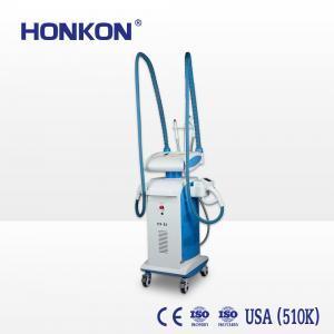 China Body Weight Loss Freeze Fat Machine 4 In 1 Vacuum + Bi - Polar Rf + Ir + Roller on sale