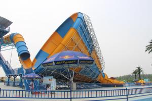 China Aqua Park Water Park Project With Tornado Water Slide / Water House / Lazy River wholesale