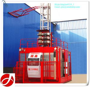 China new type SC200/200 construction hoist type for building on sale