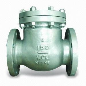 China Carbon Steel Industrial Check Valves API, ANSI Forged Steel Swing Check Valves on sale