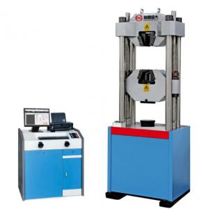 China WEW-D Computer screen display hydraulic universal tensile testing machine (six cylinder) (2000KN ) on sale