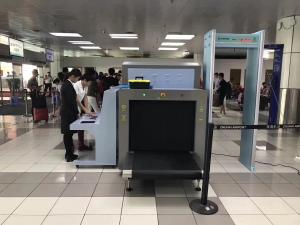 China Conveyor Belt Security X Ray Luggage Scanner / Screening Machine For Airport on sale