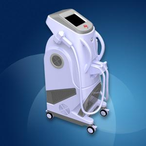 Quality 2000W Eyebrows / Chin Laser Diode Laser Facial Hair Removal Machine 810nm  for sale