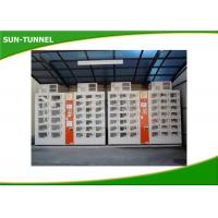 China Coin / Banknote Payment Fresh Fruit Juice Vending Machines With Secured Electronic Locker System on sale