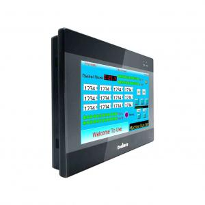 China 60K-Color Resistive Touch Screen HMI PLC All In One 64MB RAM Supports Portrait Display on sale