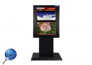 China All in One Interactive LCD Touch Screen Media Player Computer Kiosk FHD 1920*1080 on sale