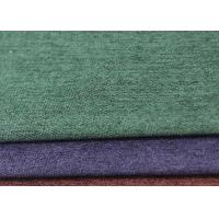 Flame Retardant Faux Suede Leather Fabric 145 Cm Customized Color 350D Yarn