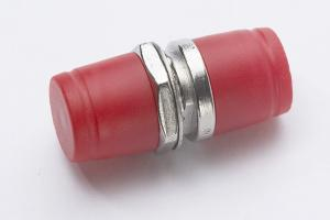 China Round type FC SM simplex Zinc alloy or copper alloy fiber optic adapter on sale
