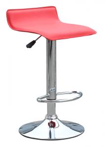 China PVC Patio Furniture Pastel Bar Stools , Swivel Bar Height Office Chair on sale