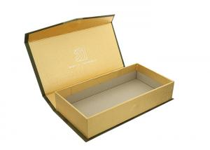 China Rectangle Paper Magnetic Closure Box Chipboard Gift Boxes For Cufflink / Belt on sale