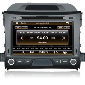"""China 8"""" 2Din Car DVD Player GPS Stereo Radio video tv 3g For Kia Sportage R on sale"""