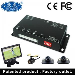 China Custom Made Mobile DVR Camera Systems / Portable 4 Channel Vehicle DVR on sale
