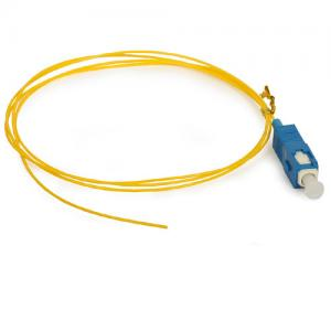 China PVC LSZH LC Pigtail Fiber Optic 1~ 144 core for Data processing networks on sale