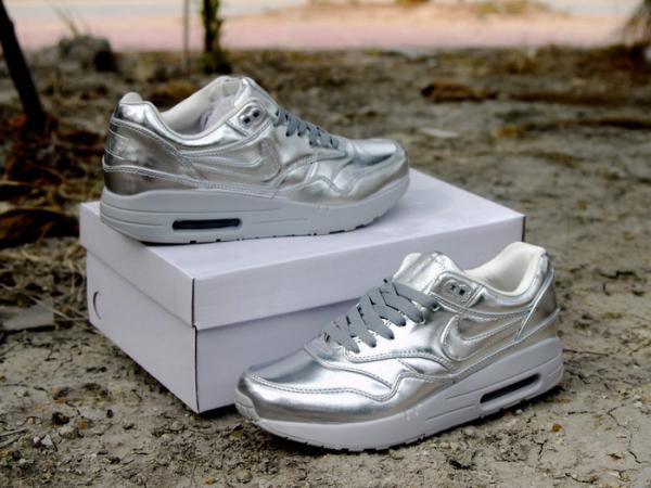 a6f523163c ... cheap nike airmax 90 1 sp liquid gold running shoes liquid silver  sneakers for men women