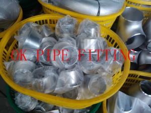 China Butt weld fittings Elbow ,Tee, Reducer Stainless steel UNS N08811 - UNS N08825 - on sale