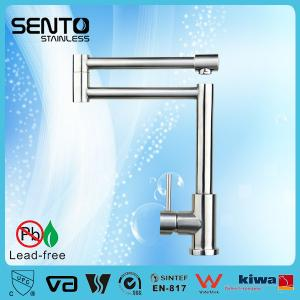China SENTO round style kitchen sink faucet with stainless steel WATERMARK kitchen sink faucet on sale