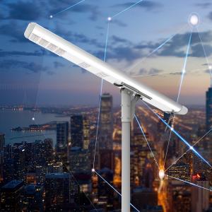 China Smart 120W Motion Sensor Led Street Light , 8000 Lumen Solar Light Street Lamp on sale