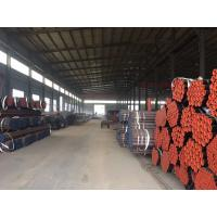 China A524 A106 Grade Seamless Stainless Steel Tubing , Max 0.21% Carbon MS Seamless Pipe  on sale