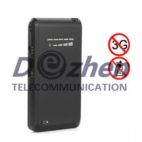 China New Cellphone Style Hidden Signal Jammer Cellphone 3G 4G Wimax Signal Blocker on sale
