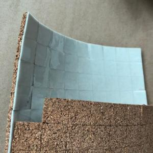 China Factory Wholesale Square 30x30mm Cork Distance Protective Pads for Glass & Mirror Seperating on sale