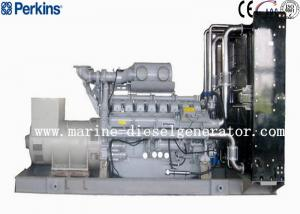 Quality 2000KVA 16 Cylinders Perkins Generator , 1600KW Generating With AC Three Phase for sale
