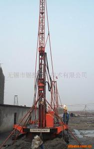 China Crawler Drilling Skid Mounted Drilling Rig Jet Grouting Skid Mounted For Geological Drill on sale