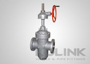 China Through Conduit Slab Gate Valve Expanding Gate High pressure Class 600-1500 on sale