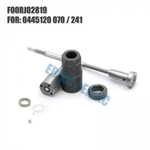 China ERIKC injector NOZZLE repair kit FOORJ02819 auto engine parts  F OOR J02 819 valve for 0445120241 on sale