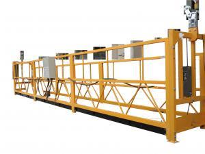 China Adjustable Temporary Suspended Work Platform For Elevator Installing / Ship Repairing on sale