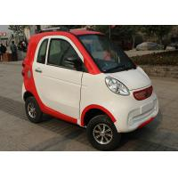 Red White Family Electric City Car , 3 Seats 2200 W Motor Automatic Electric Car