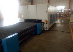 China Horizontal Laser Fiber Cutting Machine , Industrial Laser Steel Cutting Machine on sale
