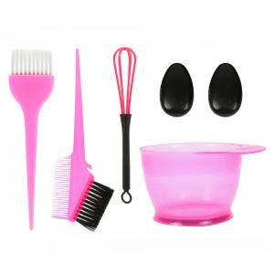 China Anti Static Hair Coloring Accessories Easy Clean Plastic Material Customized Logo on sale