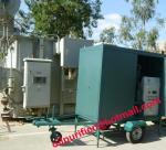 Las ruedas de coche (movibles) certificadas de /Mobile del remolque mecanografían la máquina del purificador del aceite aislador, filtración, prenda impermeable, a prueba de polvo