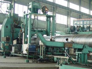 China Los tubos de gas natural de acero/API VIERON espiral el tubo espiral BS 1387 JIS G3452-2004 de la cubierta del aceite on sale