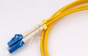 China LC Bend Insensitive Fiber Optic Network Cable , Corning Fibers on sale