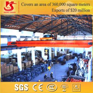 China Heavy Duty traveling double girder overhead crane on sale