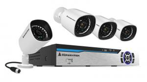China Newest 4CH 1080P Power Line Communication NVR Kit on sale