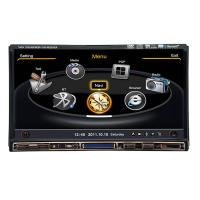Universal 1080P Windows Car DVD Player 7 Inch With TF Card 800 x 480 Resolution