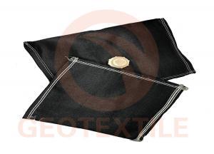 China Agricultural Animal Waste Sediment Control Bags , Black Bag Filter For Sludge Dewatering on sale