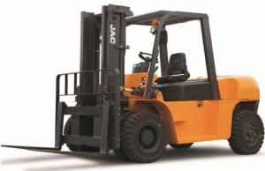 China 7 Ton Diesel Forklift Truck Large Loading Capacity Small Turning Radius CE Certificated on sale