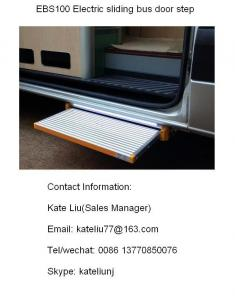 China Electric sliding bus foot step for plug door,van and coach(EBS100) on sale